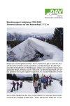 29. Februar 2020 Wandergruppe Lindenberg SST Wannenkopf