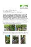 22. Mai 2021 Wandergruppe Lindenberg Hausbachklamm