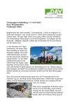 11. -14. Juli 2021 Ausbildung Bergwandern