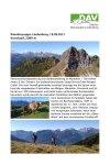 18. September 2021 Wandergruppe Lindenberg BW Itonskopf