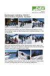 19. Februar 2017 Bergwandern Lindenberg SST Burglhütte-Burstkopf