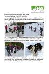 24. Januar 2016 Wandergruppe Lindenberg SST Höllritzeralpe