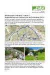 11. Juni 2017 Wandergruppe Lindenberg Breitenberg