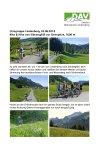 3. Juni 2018 Ortsgruppe Lindenberg Bike und Hike Sienspitze
