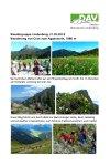 21. Mai 2018 Wandergruppe Lindenberg BW Aggenstein