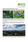 20. Mai 2018 Wandergruppe Oberstaufen Hirschberg AT