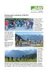 23. Juni 2018 Wandergruppe Lindenberg BW Fürstensteig