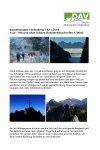 18.November 2018 Wandergruppe Lindenberg mit und ohne Schnee