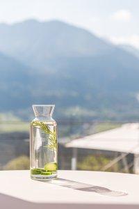 Erfrischendes Gurkenwasser