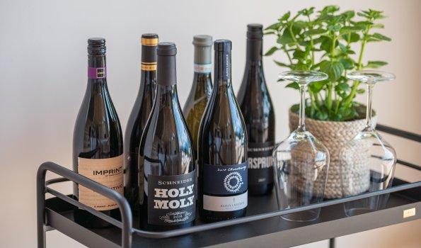 Exquisite Weine im Jägersberg