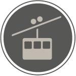 Icons die Gams12 Bergbahn