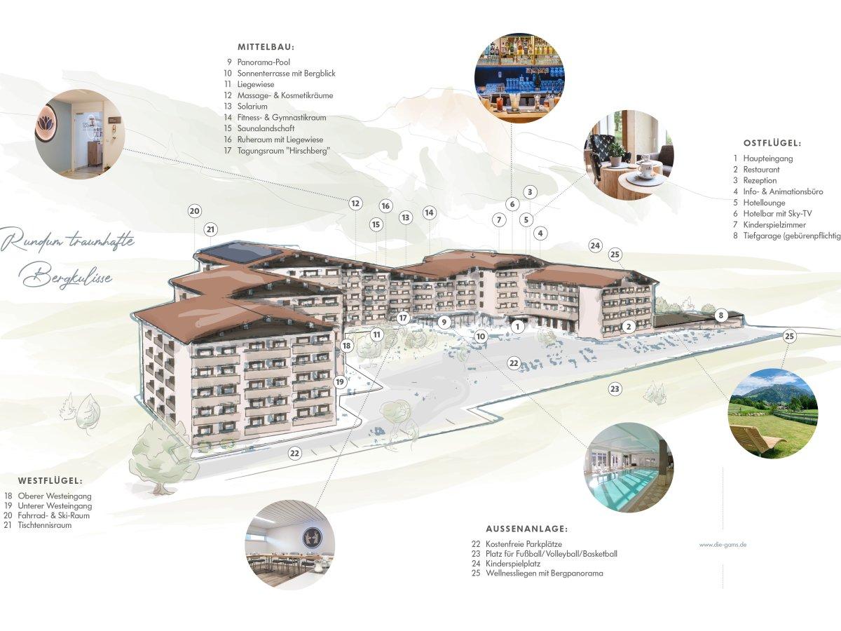 Hotelgelände Illu. 2021