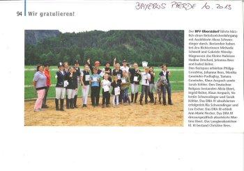 Bayerns Pferde 09/2014
