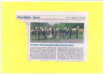 Allguer Zeitung 2011
