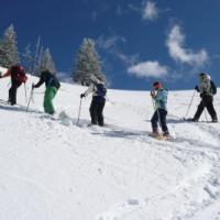 Schneeschuhwanderung Tegelberg