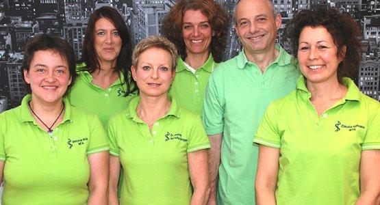 Das Team von Dr. Wirrwitz-Bingger