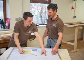 Planung eines neuen Möbelstücks