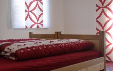 Echtholz-Doppelbett