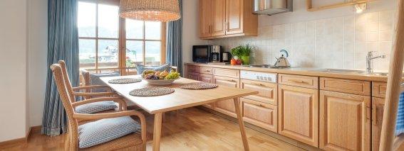 Wohnküche Wohnung Sonnenschein