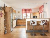 Küche in Fichte Altholz