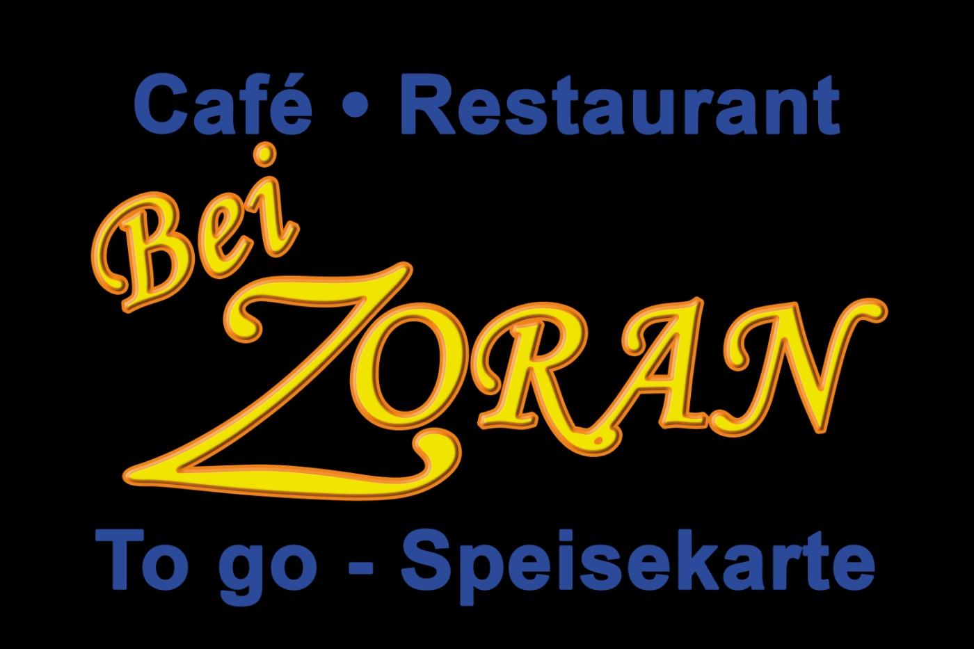 Logo Zoran to go