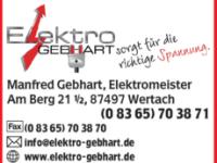 Logo Elektro Gebhart