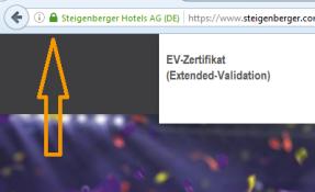 EV Zertifikat