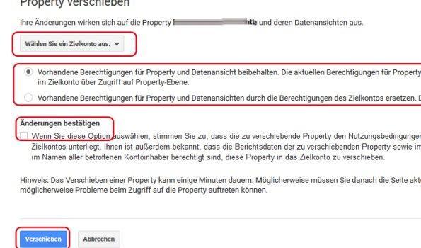 Property verschieben 2