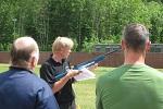 Biathlon mit Lasergewehr