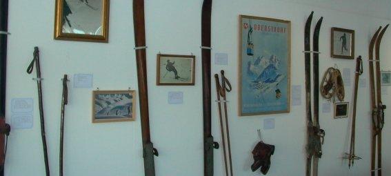 Ausstellung im Skimuseum