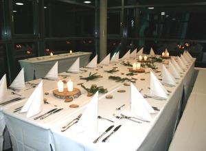 Dinner im Turm