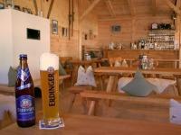 Bierspezialitäten in der Erdinger Sportalp