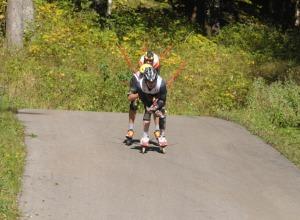 Abfahrt beim OPA Alpencup