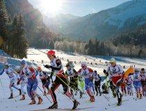 Katrin Zeller in der Spitzengruppe bei der Tour de Ski 2011