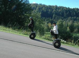 SEGWAY auf der Rollerbahn im Ried