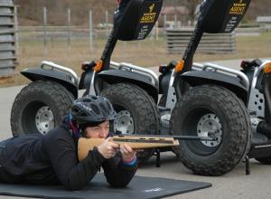 Laser Biathlon mit SEGWAY