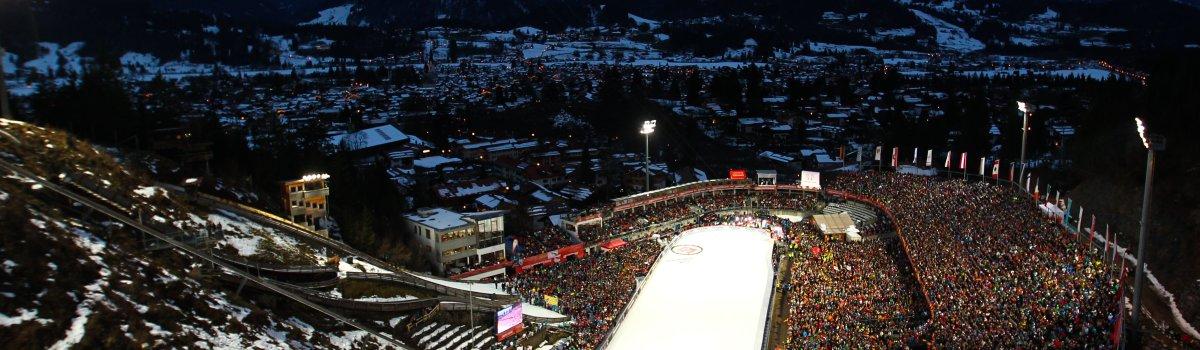 Stadion Vierschanzentournee