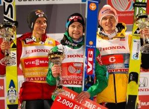 Siegerehrung Vierschanzentournee 2012/13