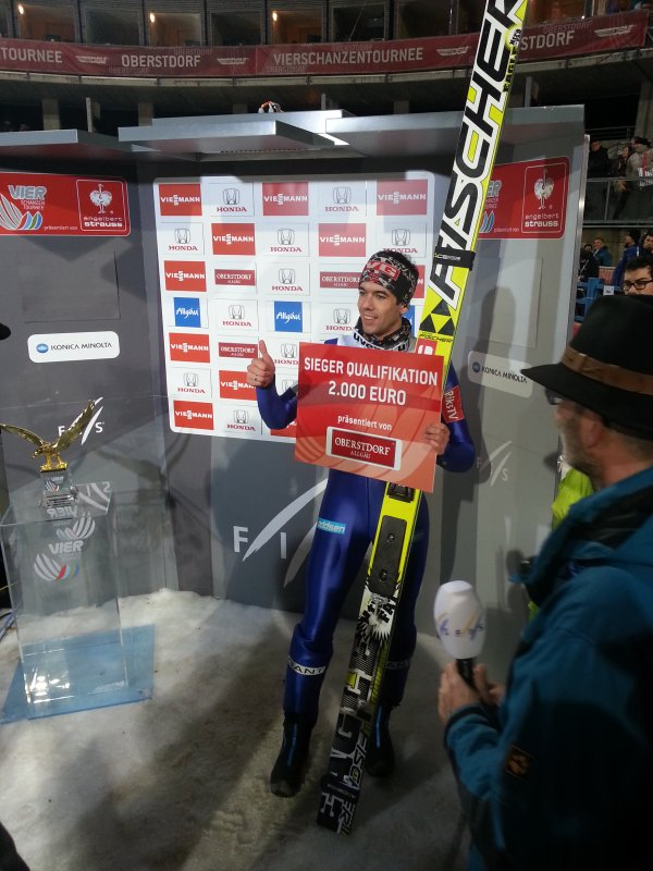Anders Bardal ist Quali-Sieger