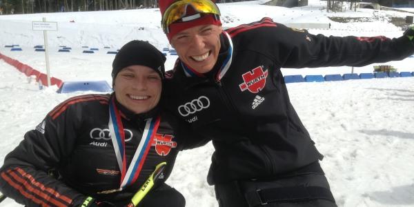 Anja Wicker und Andrea Eskau