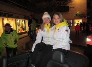 Katharina Althaus und Gianina Ernst