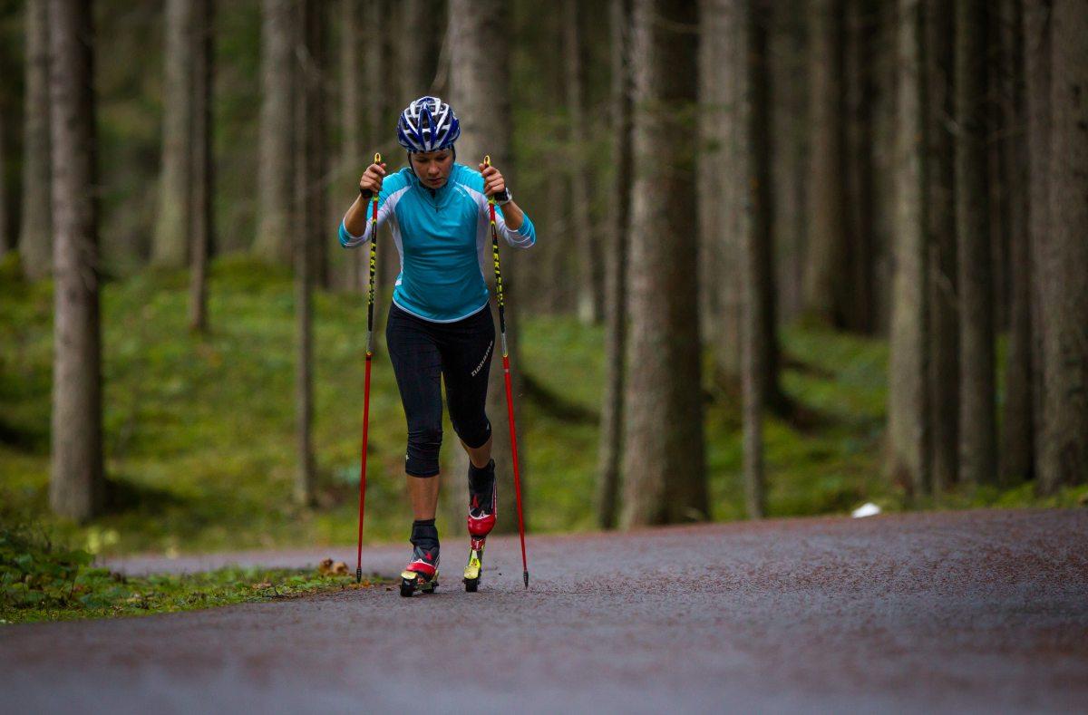 Skiroller Training