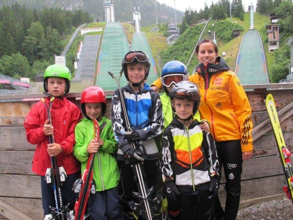 Kids Skisprung Camp 2014