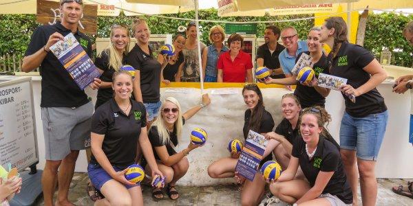 Volleyball Team Sonthofen beim Stadfest