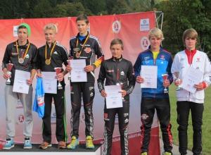 Podium J16 Nordische Kombination 20.09.2014