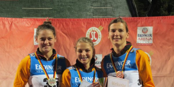 Podium Damen DSV Jugendcup / Deutschlandpokal 20.09.2014