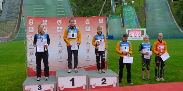 Podium Damen DSV Jugendcup / Deutschlandpokal 21.09.2014