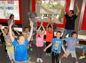 Bewegungsolympiade in der Königsegg-Schule
