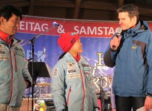 Die Weltcup-Führende Sara Takanashi