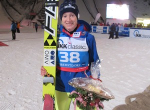 Siegerin Daniela Iraschko-Stolz